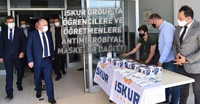 İSKUR Group'tan Öğrencilere Antibakteriyel Maske