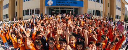 İsmail Kurtul İlköğretim Okulu'nun inşaatı tamamlandı
