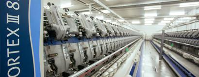Vorteks iplik tesisi 12 ton/gün kapasiteyle üretime başladı.